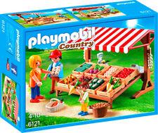 Playmobil Country Gemüsestand 6121 Neu & OVP Bauernhof Marktstand Markt