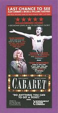 MICHELLE WILLIAMS 4-time OSCAR nominee starred in CABARET with ALAN CUMMING