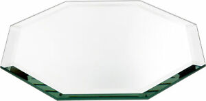 Plymor Octagon 5mm Beveled Glass Mirror, 8 inch x 8 inch (Pack of 12)