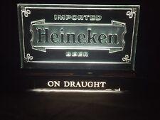 Vintage Heineken Bar Light Up Cash Register Sign New Open Box