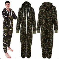 New with tag Unisex Mens All In One Jumpsuit Camouflage Onesie S M L XL XXL XXXL