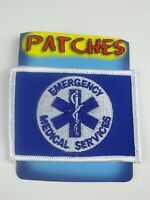 """Emergency Medical Services Flag Patch (2-1/2""""X3-1/2"""")"""