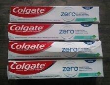 Colgate Toothpaste Zero  Clear Gel Peppermint 4.6oz EXP 01/22
