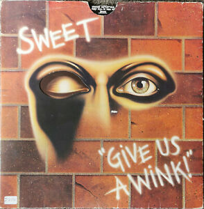LP ** Vinyl ** The Sweet - Give us a wink!