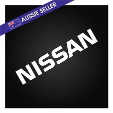 WHITE NISSAN Sticker Decal for R31 Skyline HR31 GTS GTSX RB20 RB20DET
