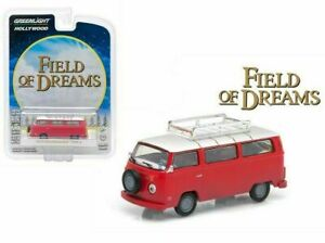Greenlight 1/64 Field of Dreams 1973 Volkswagen Type 2 Bus HOLLYWOOD 44690E