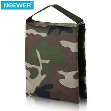 "Neewer 10""x12""/26x30cm Heavy Duty Photographic Studio Woodland Camo Sand Bag"