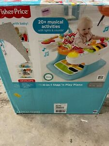 Fisher-Price 4-in-1 Step And Play Piano