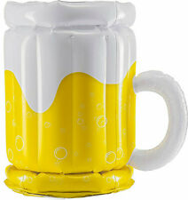 New listing Inflatable Beer Mug Bottle Cans Beverage Ice Cooler Camping Patio Deck Party