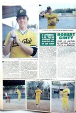 ROBERT GINTY => 1 page 1981 SPANISH CLIPPING / COUPURE DE PRESSE Espagne