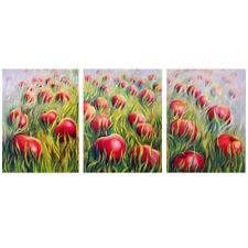 Morning Harvest Triptych Original acrylic painting by Eleonora Manapova