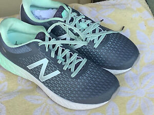 NEW New Balance BORACAY Pastel Aqua/Teal & Gray Running Shoes Sz 8 B