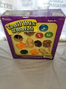 Learning Resources Trail Mix & Match Ages 2+ Lacing & Learning Memory Game Shelf