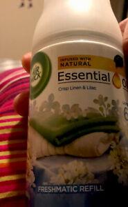 Air Wick Freshmatic Crisp Linen and Lilac / Spray Refill 250ml