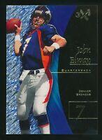 1998 Skybox EX-2001John Elway Clear Card Denver Broncos HOF QB #10