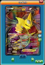 FA Giratina-EX FULL ART Pokemon TCG ONLINE ( PTCGO digital card )