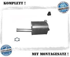 für Hyundai i10 1,1 G4HG 8357-AAE Mitteltopf Rohr mit Flexrohr Auspuff Auspuffan