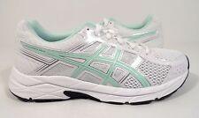 ASICS Women's Gel-Contend 4 Running Shoe, White/Bay/Silver, 9 M US