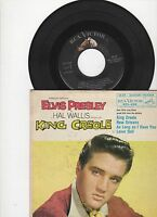 Elvis Presley EPA-4319 w/4 Songs King Creole US w/Picture Sleeve 7 inch 45