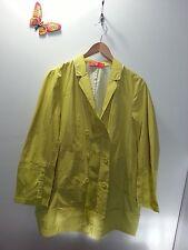 KUHO Kuho Jung Women's Button Down Super Thin Lime Green Blazer - No Size
