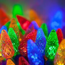 35 count C 6 LED Christmas Light String Multi Color
