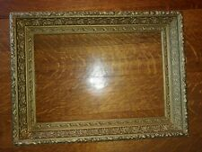 """Beautiful Antique  18""""x 24"""" Ornate Gesso Wood Picture Frame Gold Gilt"""
