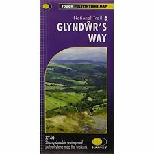 Glyndwr's Way  XT40 by Harvey Map Services Ltd. (Sheet map, folded, 2014)