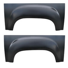 PAIR 07-13 GMC Upper Wheel Arch Repair Panels, 5.5' Bed Sierra Truck Rust Repair