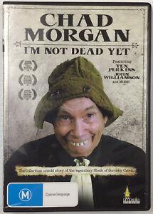 Chad Morgan I'm Not Dead Yet DVD Australian Country Music Documentary Reg All