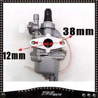 2 stroke Carby Carburetor 47cc/49cc Mini Pit/Dirt bike Pocket bike mini Quad atv