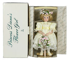 Princess Diana's Flower Girl Porcelain Doll by Danbury Mint Nrfb