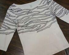 👚MARC CAIN Pullover Pulli Shirt N3 38 aktuell - Animal Print  NEU