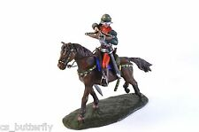 Equestrian arbalester 15th Shooting 1/32 Toy soldier Handmade Painted