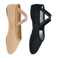 Starlite Flexi Split Sole Canvas Ballet Shoes