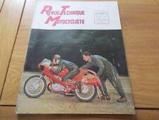 REVUE TECHNIQUE MOTO -RTM N° 84/85 MOTEURS ULTIMA / YDRAL / MOTO NSU MAX  1954