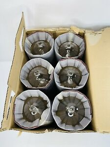 LOT OF 6 GENERAL ELECTRIC MVR400 / VBU / HO / PA  (NEW IN BOX) LAMPS / BULBS !!!