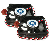 2 JMC Dell 5215-12HHBA Server Case CPU Fans 12V 0.35A 52mm x 15mm Ball Bearing