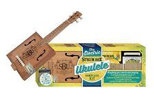 Hinkler Electric Strum Box Ukulele Kit - Cigar Box Ukulele Beginner Package