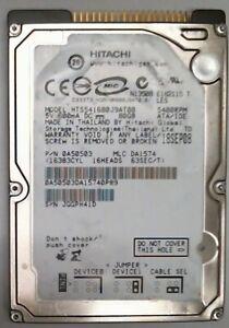 "80 GB Ide Hitachi HTS541680J9AT00 2.5 "" Hard Drive General Overhaul"