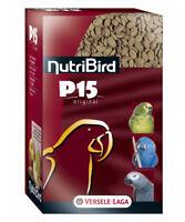 Nutribird P15 Original, 1 kg, Nourriture pour Perroquets - Monocolor