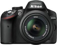 Nikon D3200 Digital SLR Camera 25492 (Black) with 18-55mm Lens Included