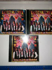 CD Album, Kastelruther Spatzen, Träume von Liebe und Zärtlichkeit CD 1-3