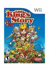 Little King's Story - Nintendo Wii Free Shipping