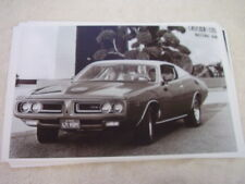 1971 DODGE CHARGER SUPER BEE 11 X 17  PHOTO  PICTURE
