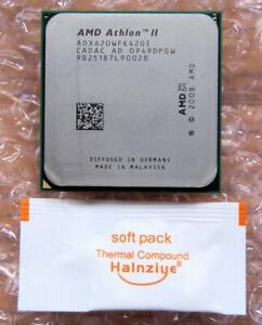 AMD Athlon II X4 ADX620WFK42GI Quad-Core 2.6GHz Socket AM2+ AM3 Processor CPU