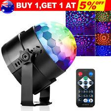 Disco Lights Party DJ LED RGB Stage USB Car Lamp Strobe Laser Crystal Magic Ball