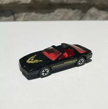 1982 Vintage Trans Am Firebird Formula Die Cast Mint Black Red Seats 1 / 64