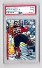 MARTIN BRODEUR 1994-95 PINNACLE RINK COLLECTION PARALLEL #145 DEVILS PSA 9 MINT