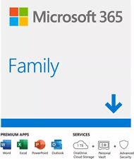 Microsoft Office 365 Family (License) Windows PC/Mac, 6 Users