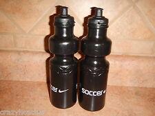 2 28 oz Water Bottles BPA FREE Bike Bicycle Cycling Nike Soccer Bottle USA MADE!